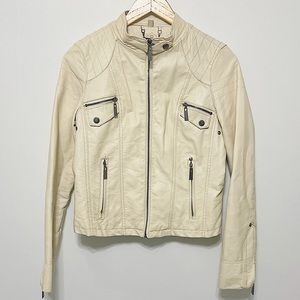 Jou Jou Faux Leather Jacket Small
